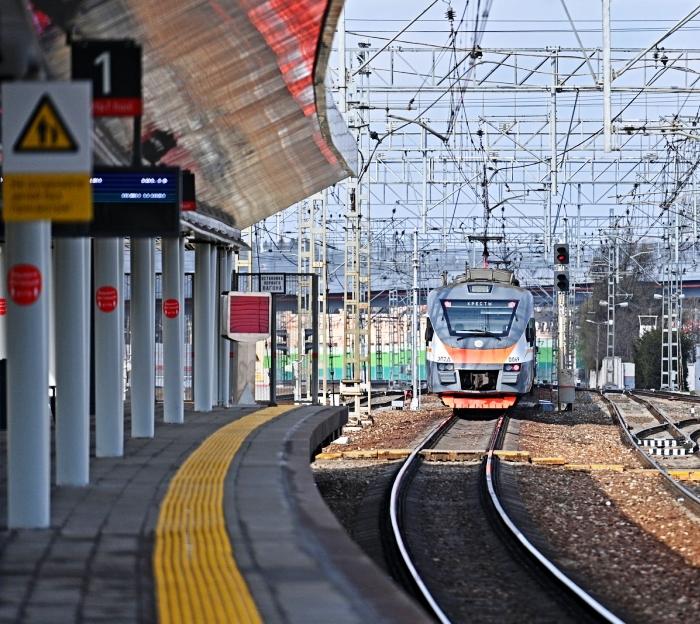 Ежедневный пассажиропоток станции «Внуково» будущего МЦД-4 увеличился на 10% за неделю